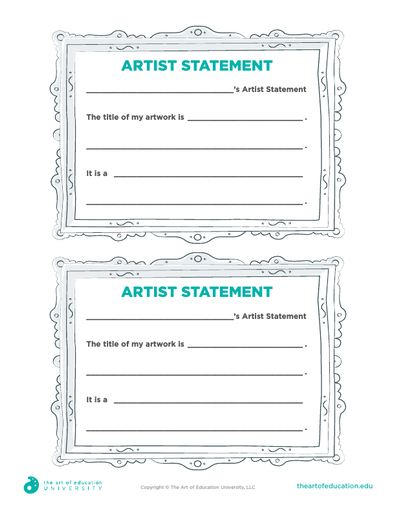 Mini Artist Statement - FLEX Assessment