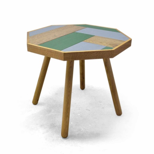Octagon coffee table nuotrauka