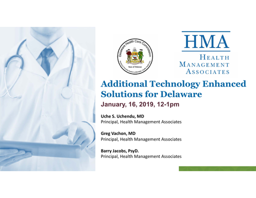 Additional Technology Enhanced Solutions for Delaware
