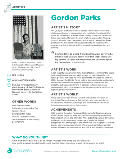 Gordon Parks - FLEX Resource