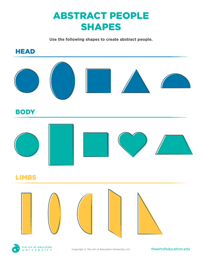 Abstract People Shapes - FLEX Assessment