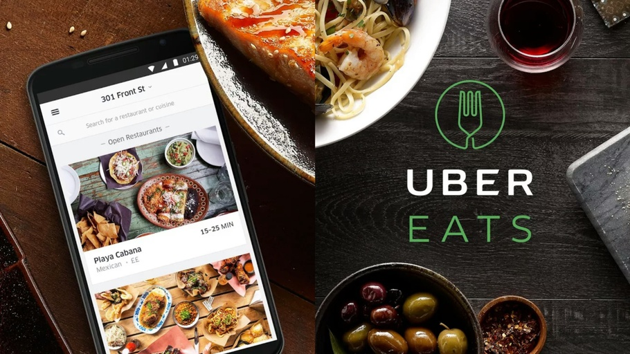 Uber Eats referral and affiliate program