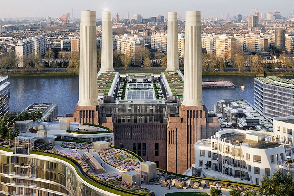 What does the vibrant Battersea Power Station offer to see?