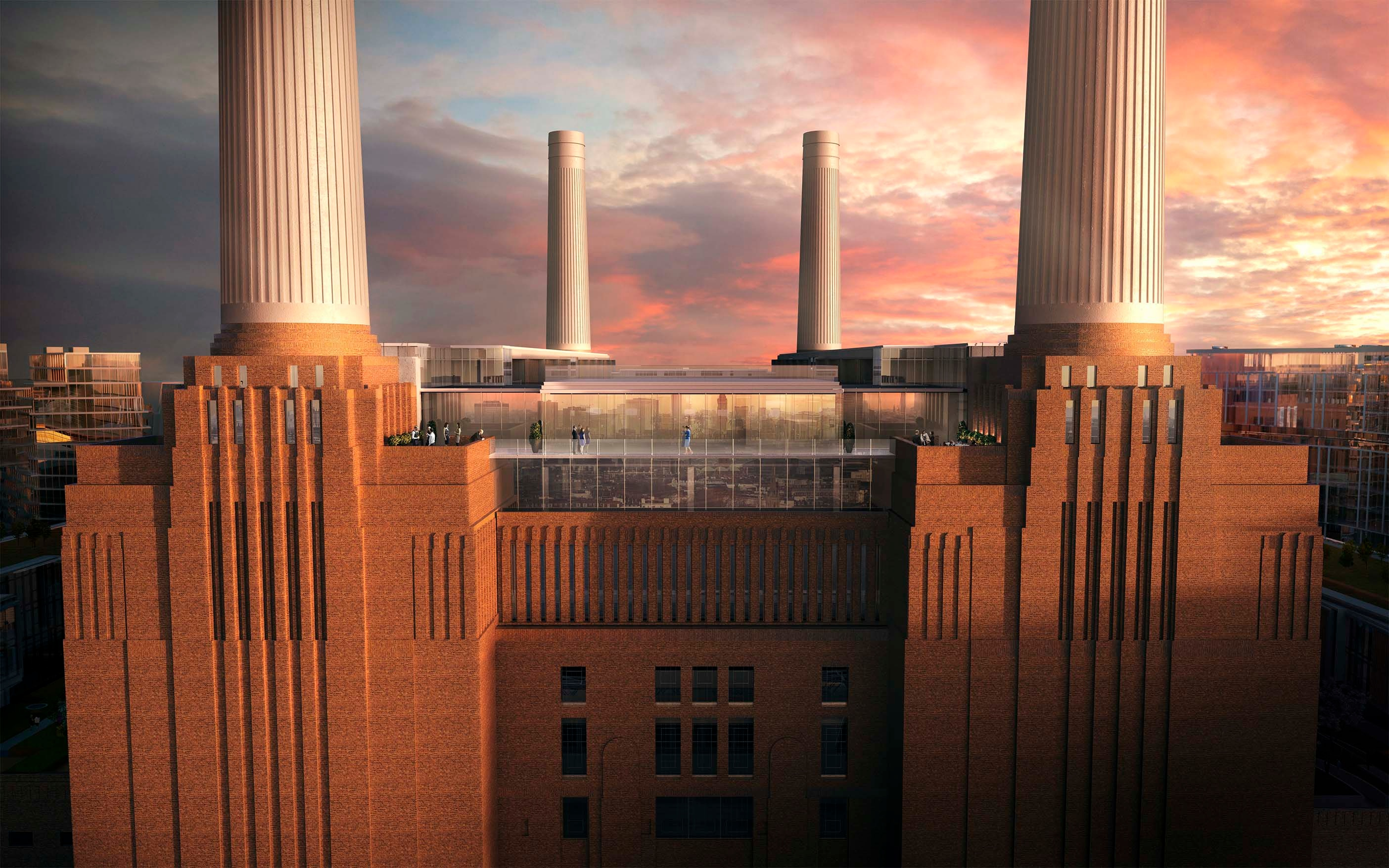What distinguishes Battersea Power Station from other developments in London