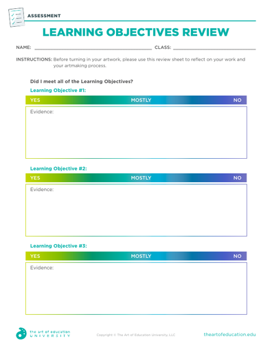 Learning Objectives Review - FLEX Assessment
