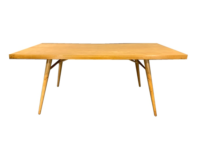 Planner Group Mid-Century Modern Maple Dining Room Table by Paul McCobb