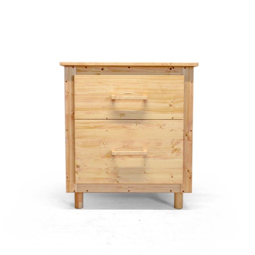 Wooden chest of drawers nuotrauka