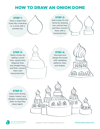 How to Draw an Onion Dome - FLEX Assessment