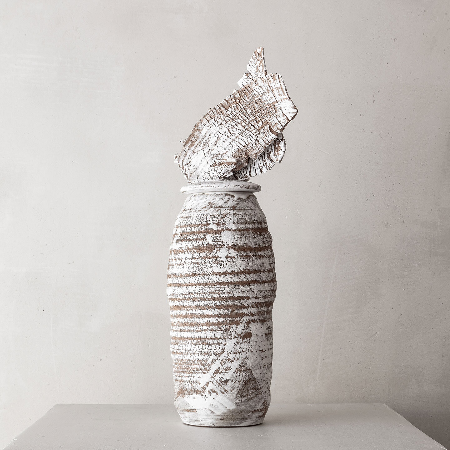 CHTHONIC VESSEL 37Peter Speliopoulos, Peter Speliopoulos Ceramics, Peter Speliopoulos Artist, Peter Speliopoulos Fashion Designer, Contemporary Ceramics, Contemporary Greek Ceramics, Interior Design Accessories.
