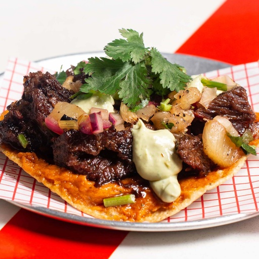 Beef Cheek Tostada