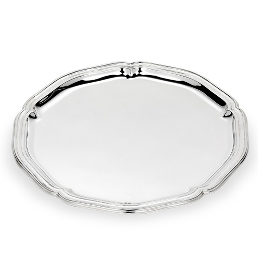 CHIPPENDALE SILVER TRAY