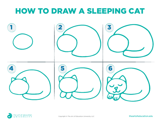 How To Draw A Sleeping Cat - FLEX Assessment