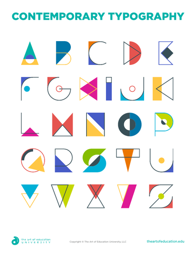 Contemporary Typography - FLEX Resource