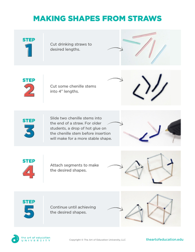 Making Shapes From Straws - FLEX Resource