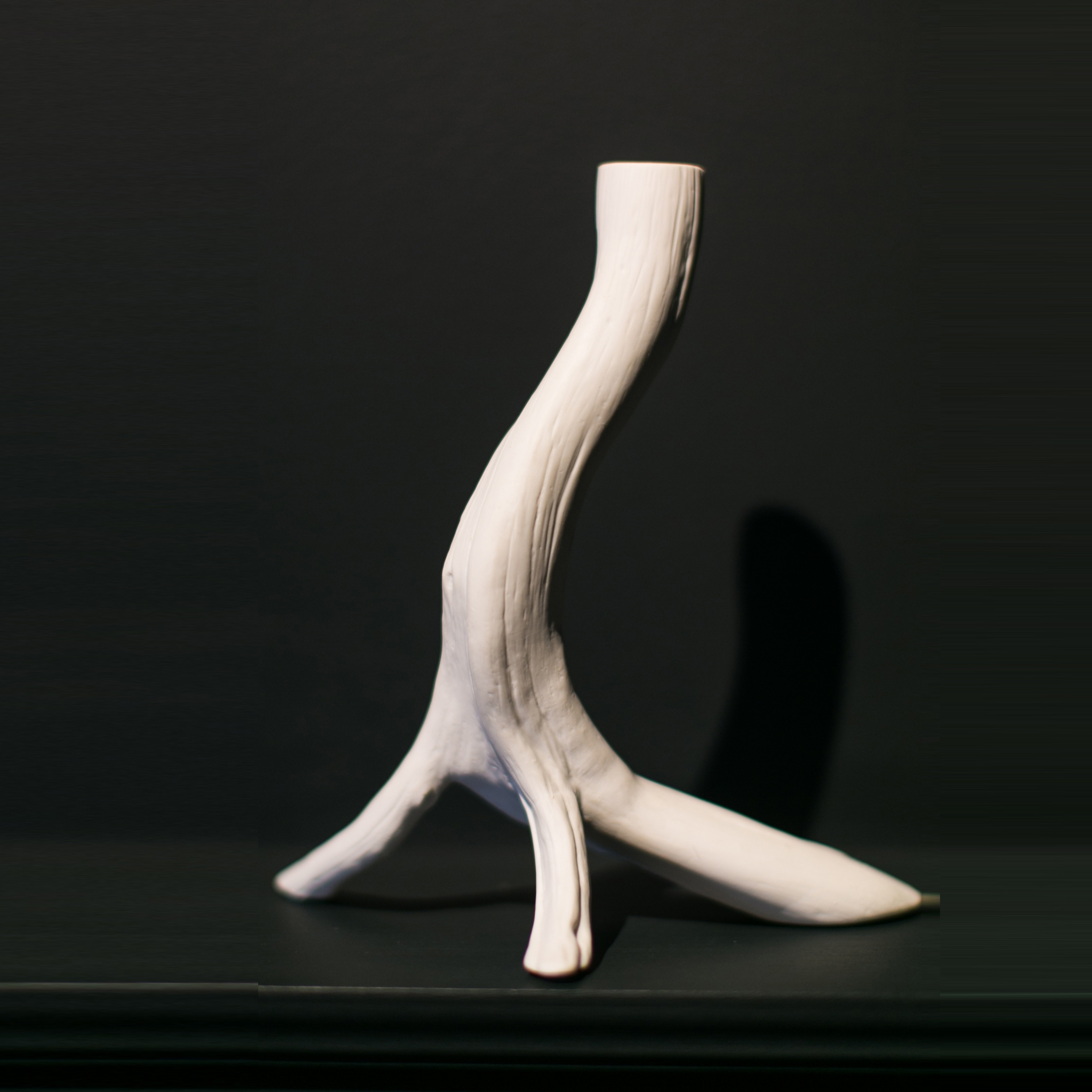 BRANCH CANDLESTICK (S)   T. MUEHLING