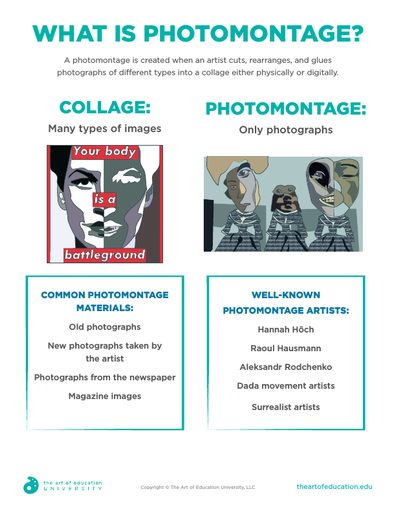 What is Photomontage? - FLEX Resource