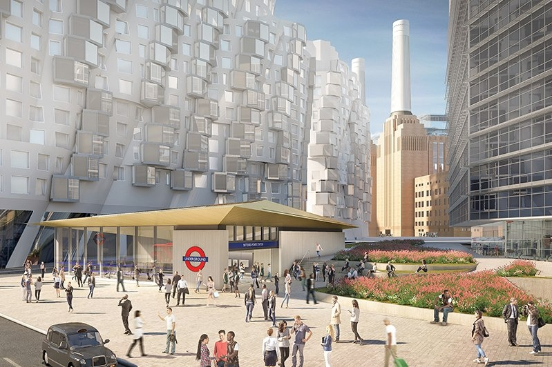 New London Underground Station at Battersea will open in 2 years