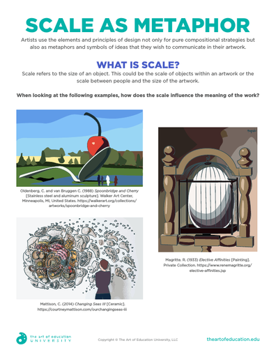 Scale as Metaphor - FLEX Resource