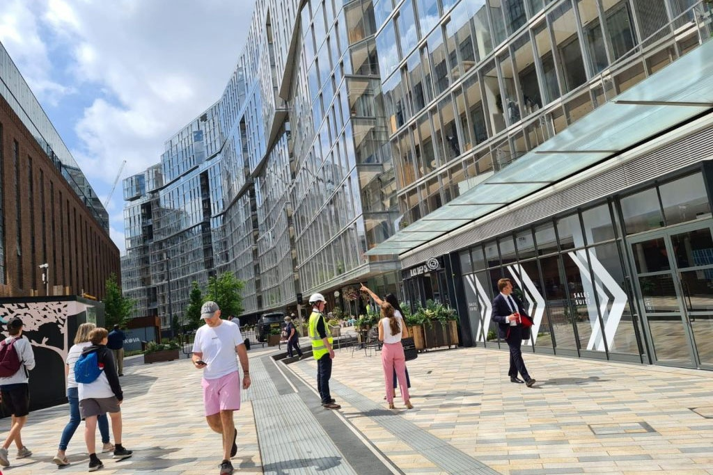 Battersea Power Station Welcomes its First Residents into Switch House West