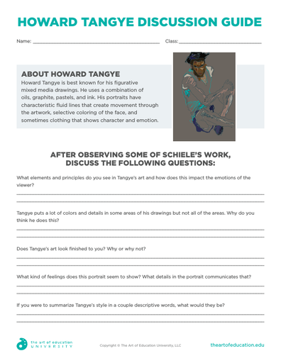 Howard Tangye Discussion Guide - FLEX Resource