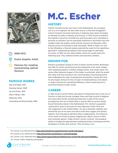 M.C. Escher - FLEX Resource