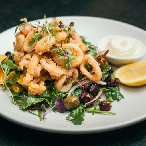 Spice Dusted Calamari