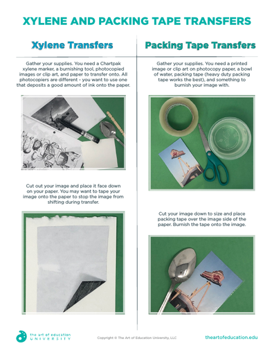 Xylene and Packing Tape Transfers - FLEX Assessment