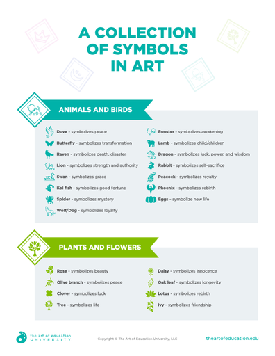 Collection of Symbols in Art - FLEX Assessment