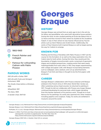 Georges Braque - FLEX Resource