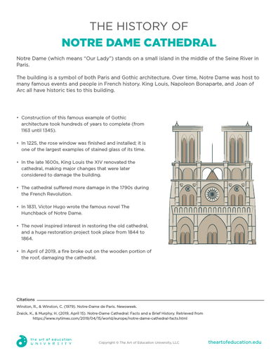 History of Notre Dame - FLEX Assessment