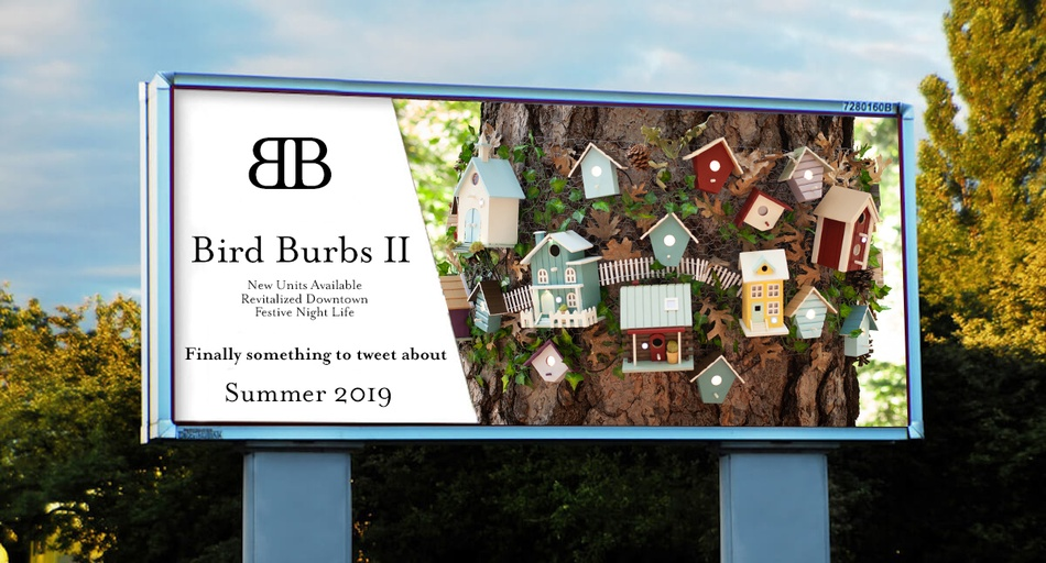 Bird Burbs 2: Back to the Burbs