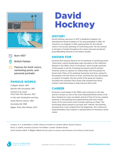 David Hockney - FLEX Resource