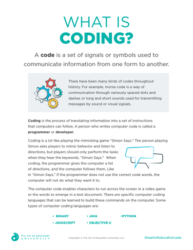 What is Coding? - FLEX Assessment