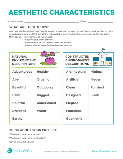 Aesthetic Characteristics - FLEX Resource