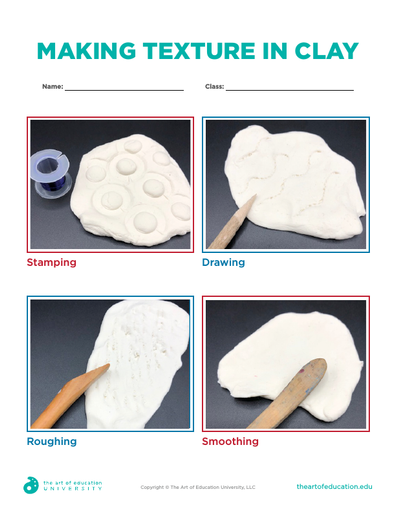 Making Texture in Clay - FLEX Assessment