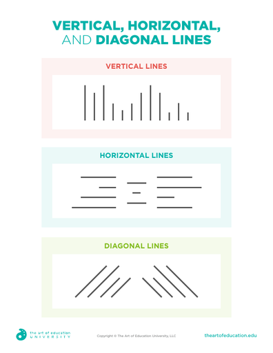 Vertical, Horizontal and Diagonal Lines - FLEX Assessment