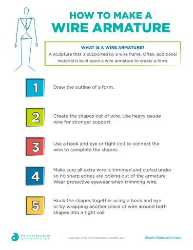 How to Make a Wire Armature - FLEX Resource