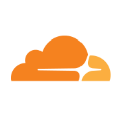 Logo Cloudflare color palette