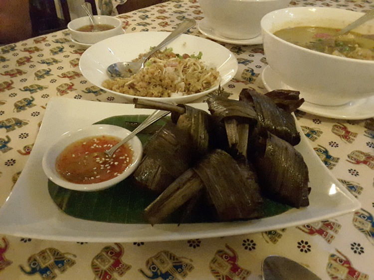 Pandan leaf Chicken