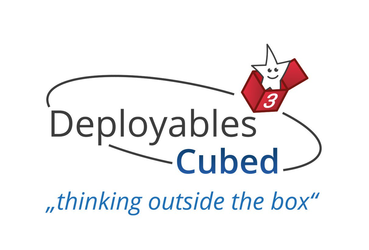 Deployables Cubed logo