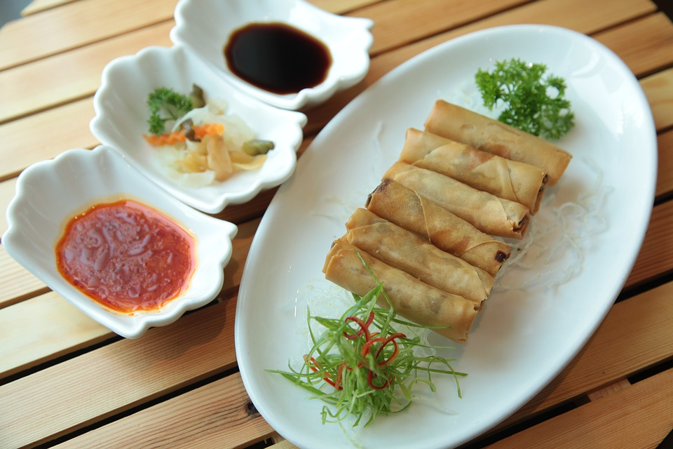 Deep-Fried Spring Rolls