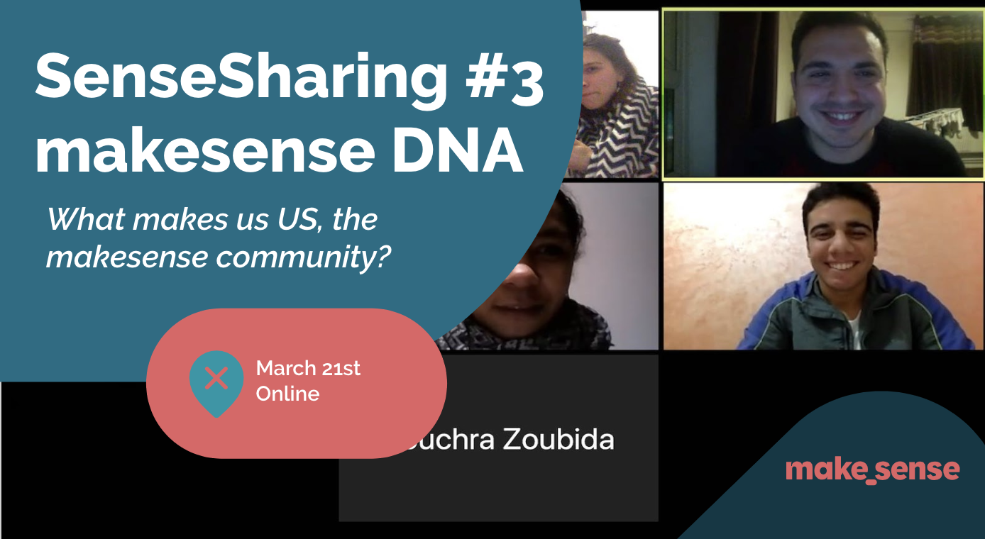 Image of the event : Sensesharing #3: Our makesense DNA