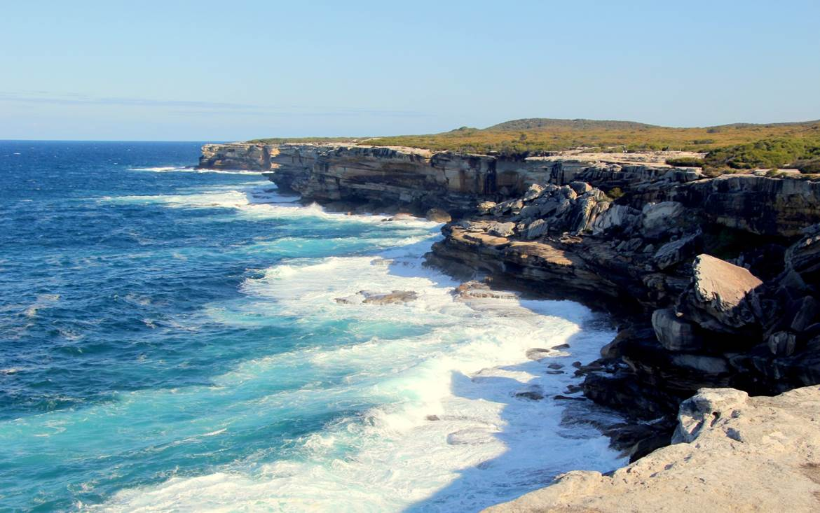 the stunning views from cape Solander