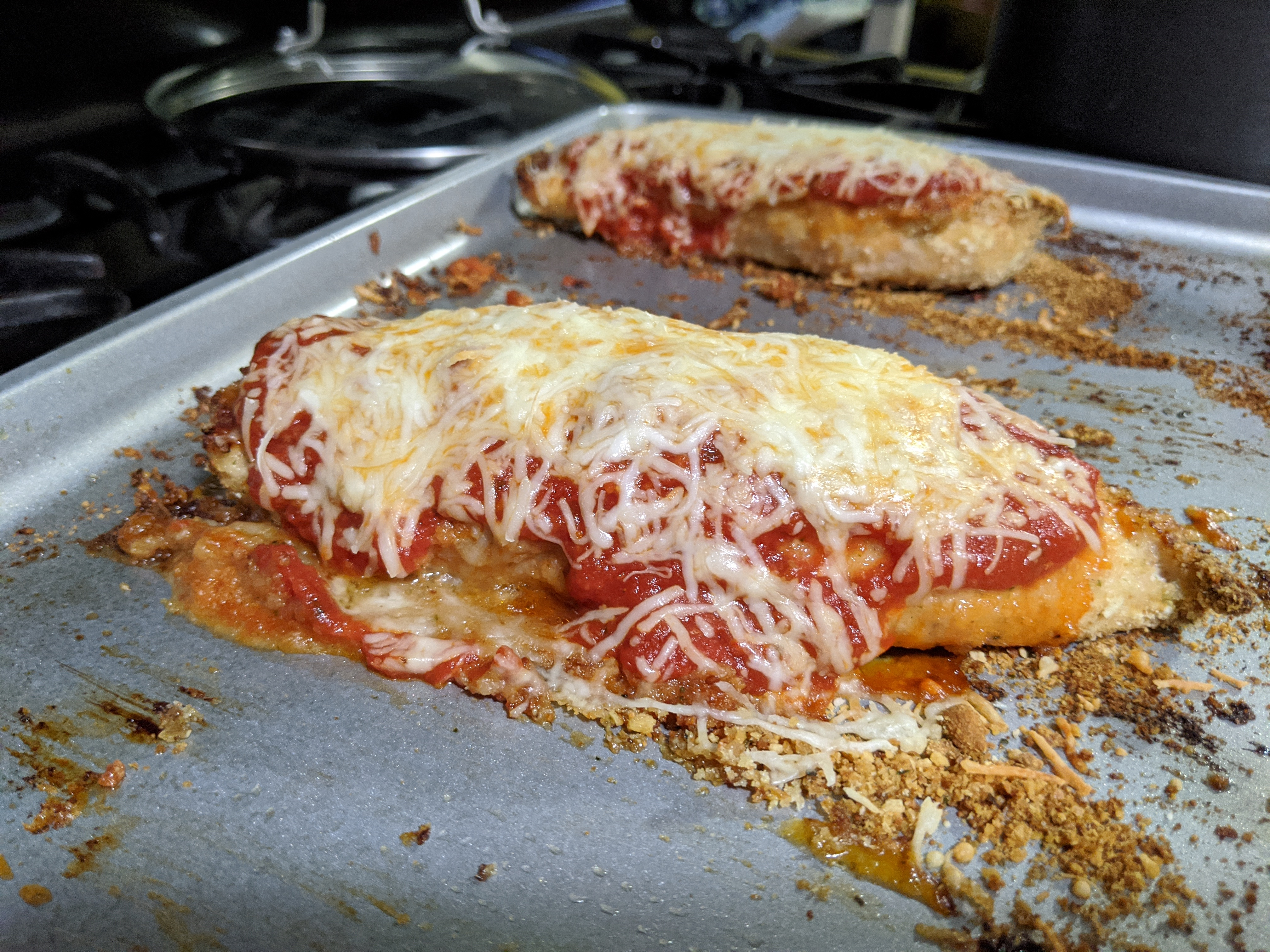 Image of Healthy Baked Chicken Parmesan