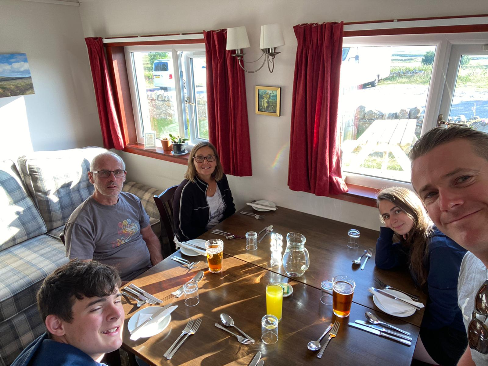 Day 13 - Inverness to The Crask Inn