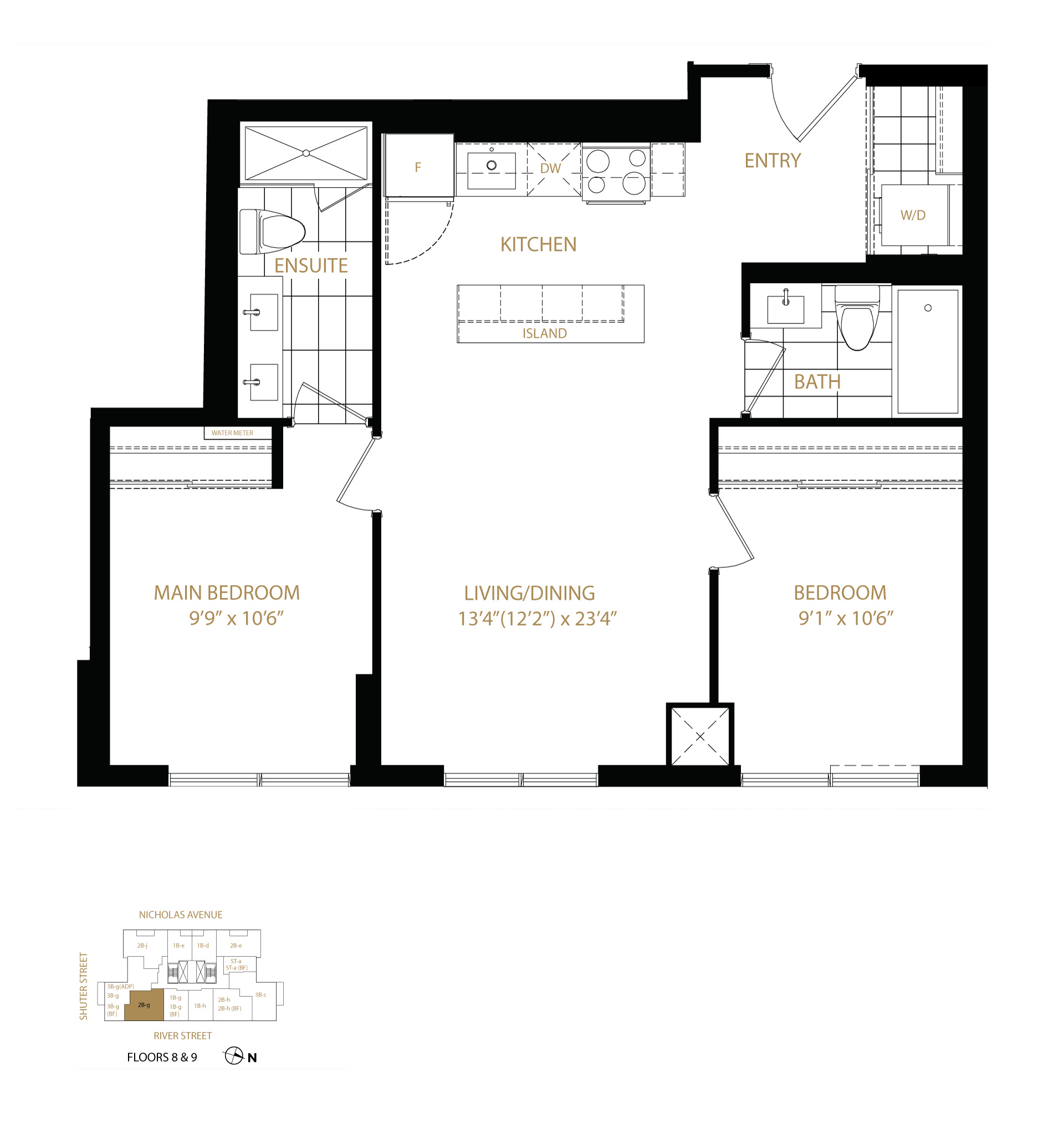 An image of the apartment layout.