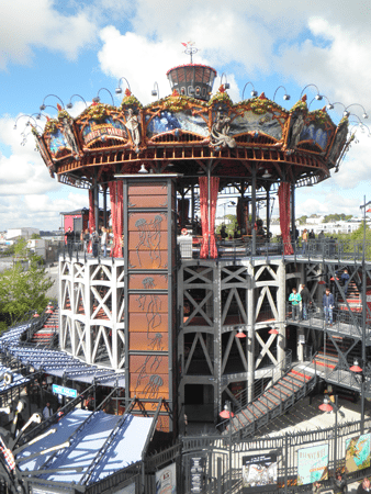 The Carousel des Mondes Marines in Nantes