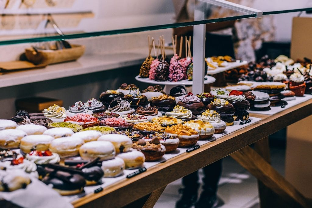 overflowing sweets