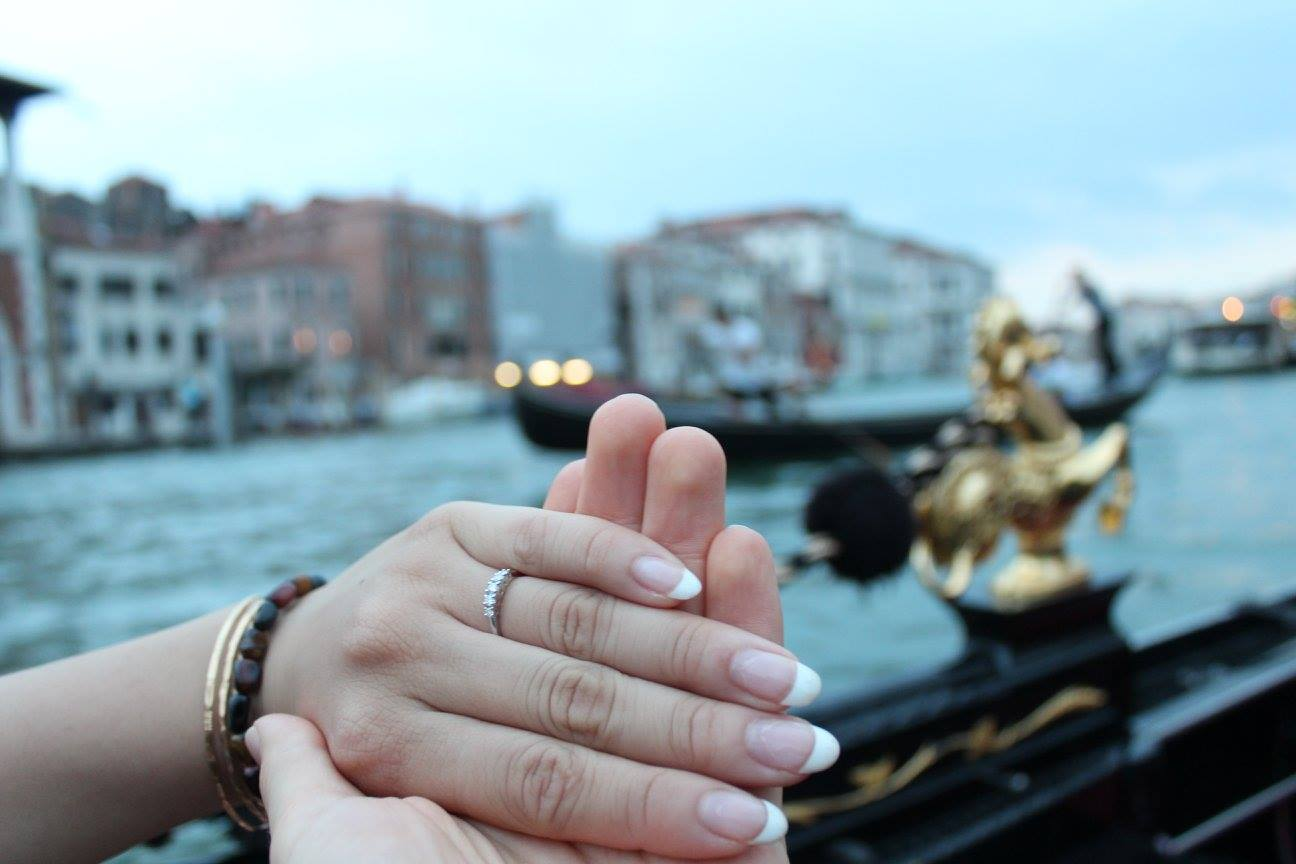 He Proposed on a Gondola