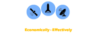The Rocket and Satellite Company  logo
